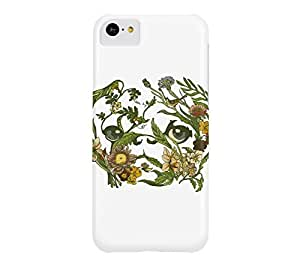 Botanical Pug iPhone 5c White Barely There Phone Case - Design By Humans