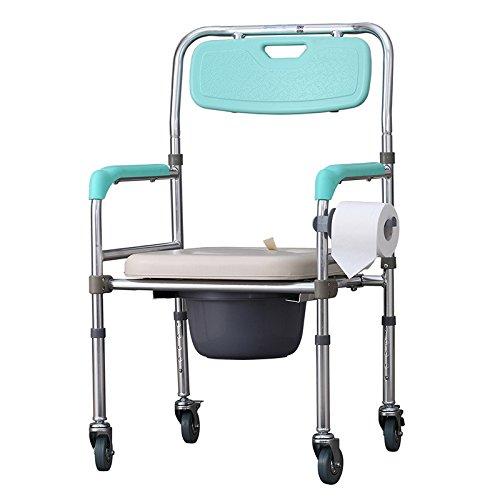 Bedside Commode Aluminum alloy elderly disabled pregnant ...