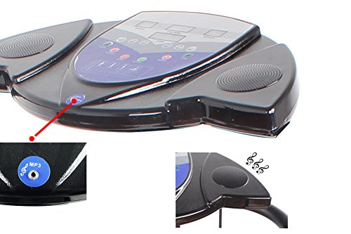 D Dr. Health Fitness Vibration Plate | Slim Full Body Exercise Machine 2000W.