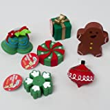 DOG TOY CHRISTMAS VINYL W/SQUKR 6 ASSORTED IN PDQ, Case Pack of 78