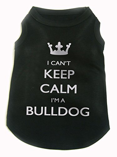 I Can't Keep Calm I'm A Bulldog, dog, by Bertie, Free worldwide shipping