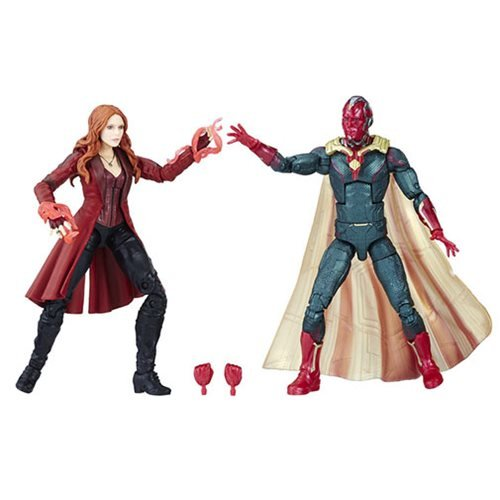 Marvel Legends Vision and Scarlet Witch 6-Inch Action Figures 2-Pack - Exclusive - Exclusive Two Pack