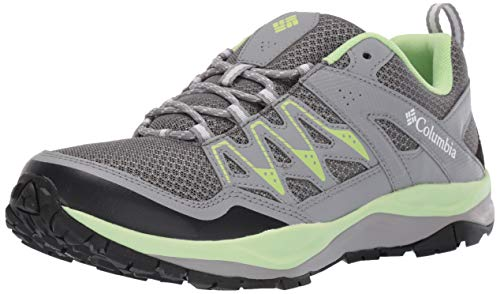 Columbia Women's Wayfinder, graphite, jade lime, 9 Regular US
