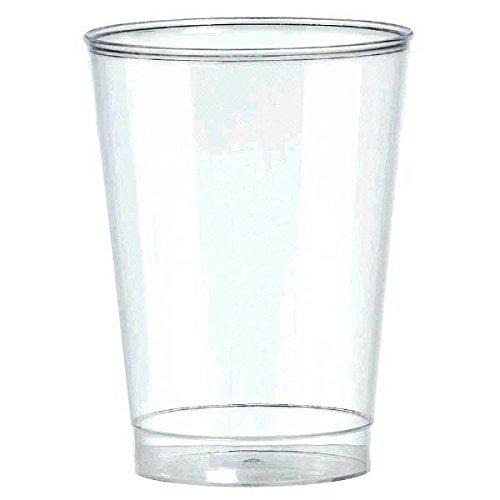 Big Party Pack Plastic Cups 10-Ounces 72/Pkg, Clear