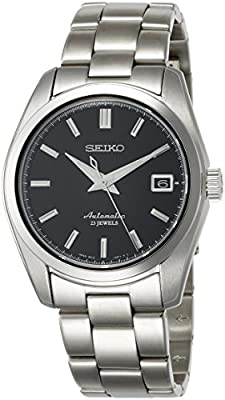 Seiko Men's ' Japanese Automatic Stainless Steel Casual Watch, Color Silver-Toned (Model: SARB033) by Pulsar Watches Child Code