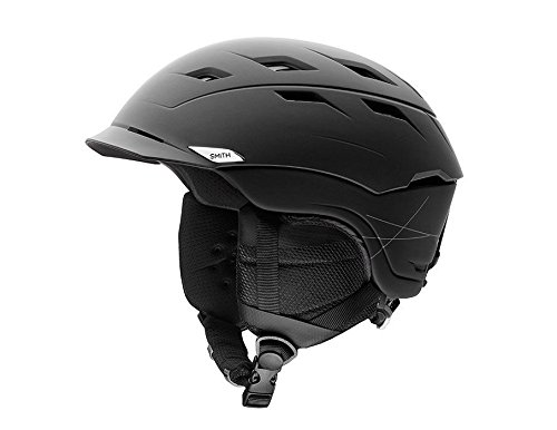 Adult Helmet Matte - Smith Optics Unisex Adult Variance Snow Sports Helmet - Matte Black Medium (55-59CM)