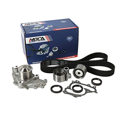 MOCA Timing Belt Water Pump Kit Fit 1994-2001 Toyota Camry & 1995-2004 Toyota Avalon & 1994-2001 Lexus ES300 3.0L V6 ()