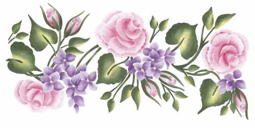 (Instant Expressions Pink Cabbage Rose Decorative Paint)