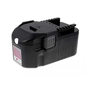 Batería para AEG cepilladora de batería BHO 18 3000mAh NiMH, 18V, NiMH