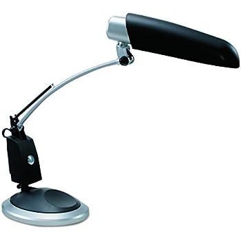 Ledu Full Spectrum Adjustable Swing Arm Desk Lamp Brushed