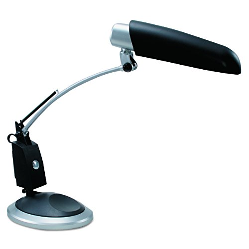 - Ledu L9062 Ledu Full Spectrum Desk Lamp, Black with Sliver Accents