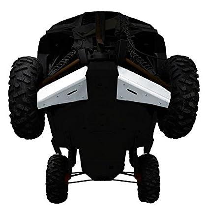 Amazon.com: Polaris, RZR XP 1000, XP-4 1000, XP Turbo EPS, XP Turbo EPS, 2 piece Aluminum A-Arm & CV Boot Guard Set by Ricochet For 2016, 2017 Models: ...