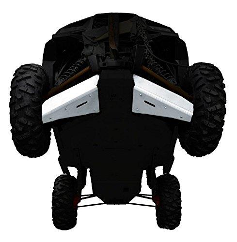 Polaris, RZR XP 1000, XP-4 1000, XP Turbo EPS, XP Turbo EPS, 2 piece Aluminum A-Arm & CV Boot Guard Set by Ricochet For 2016, 2017 Models