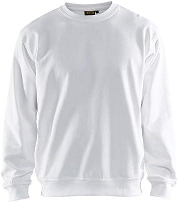 blakläder Sudadera en muchos colores 100% algodón, Blanco: Amazon.es: Bricolaje y herramientas
