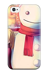 Hot Design Premium DVabJIF15821QKbaG Tpu Case Cover Iphone 4/4s Protection Case(anime Children Playing In The Snow) by lolosakes