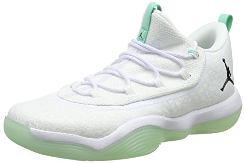 emerald De Jordan Basket Nike Zapatos Baloncesto 2017 Blanco Super Rise white Hombre 117 Para black fly Low xw0Fqw6R
