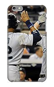 Crooningrose Durable Defender Case For Iphone 6 Plus Tpu Cover(seattle Mariners Mlb Baseball) Best Gift Choice by kobestar