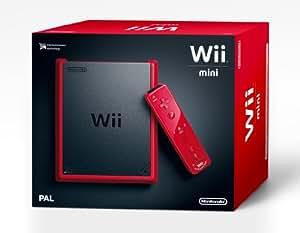 Nintendo Wii - Consola Mini, Color Rojo