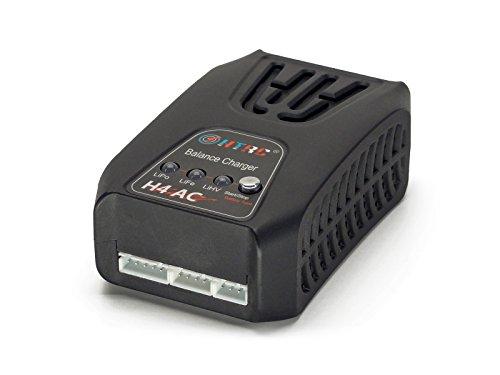 H4 AC 2S-4S (2Amps, 20Watts): LiPo, Life, LiHV AC Balancing Battery Charger (HT-0083) (2S, 3S, 4S, 7.4V, 11.1V, 14.8V, 6.6V, 9.9V, 13.2V, 7.6V, 11.4V, 15.2V) with Warranty ()