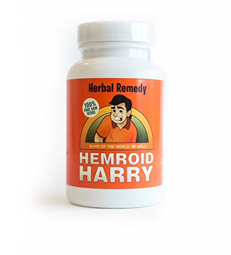 Hemroid Harry's Herbal Remedy, 30 Day (240 Count) - Natural Hemorrhoid Treatment, Itch Pain Relief, Pills, Medicine, Medication, Care