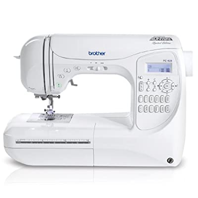 Brother Project Runway PC420PRW 294-Stitch Professional Grade Computerized Sewing Machine with 3 Built-In Lettering Styles, and Carrying Case by Brother