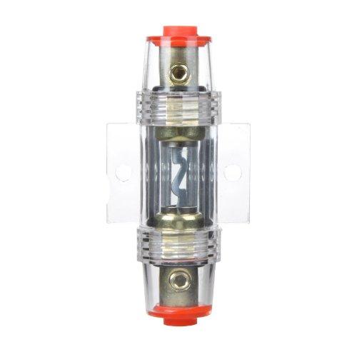 f/ácil instalaci/ón de amplificador y subwoofer Kit de instalaci/ón de coche KKmoon para amplificador de 1500/W y altavoz subwoofer con cable de alimentaci/ón de 8/GA portafusibles de 60 A y cable de 5/m de longitud