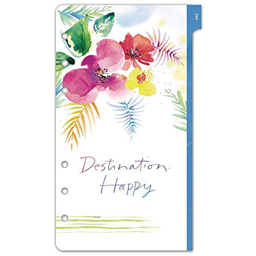Kathy Davis for Day-Timer Weekly Planner Refill, Two Page Per Week, 3-3/4