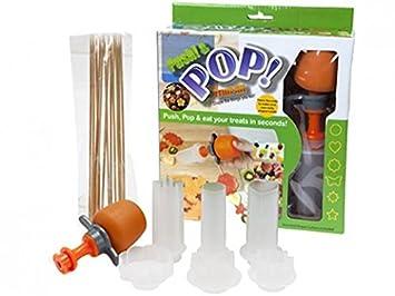 Küchen zubehör kinder  6 Shaped Fun Push & Pop Fruit Treat Kit Maker, Küchenzubehör, Kinder ...