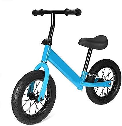 QHY Niños Bicicleta De Equilibrio Bicicleta Niños Scooters 1-3-6 Años Paseo Antiguo Mini Scooter Yo Coche 2 Ruedas Inflable Infantil Juguetes Regalo (Color : Blue)