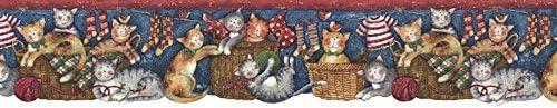 猫壁紙ボーダーfp75407dc