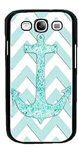 HeartCase Hard Case for Samsung Galaxy S3 I9300/I9308/I939 ( Chevron Anchor Boat )