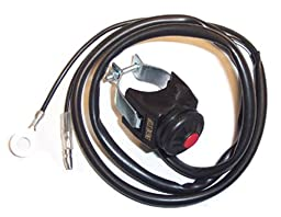 K&S Technologies 12-0103 Kawasaki KX Style Engine Kill Switch
