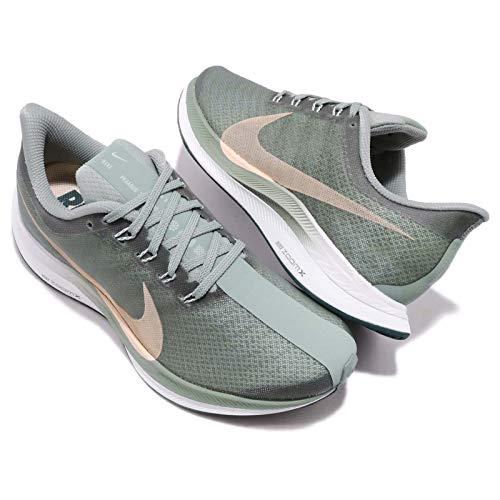 new style f096a b3ac1 Amazon.com   Nike Women s Zoom Pegasus 35 Turbo Size 8 Mica Green Light  Silver   Road Running