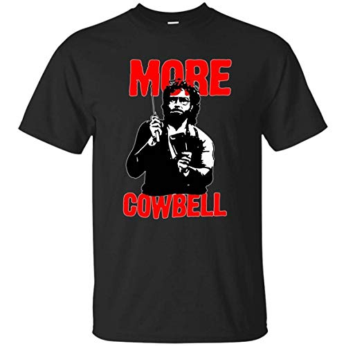 RBAKI AIFN More Cowbell Saturday Night Live Shirt-Funny T-Shirt for Men ()