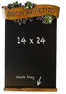 Italian Kitchen Black Chalkboard Buon Appetito