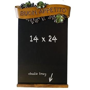 Cucina Kitchen Black Chalkboard Kitchen