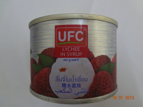 UFC Lychee in syrup 170 g (6oz) by UFC by UFC