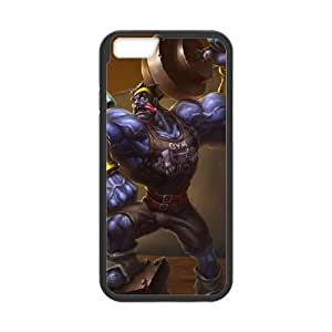 iPhone 6 Plus 5.5 Inch Cell Phone Case Black League of Legends Mr. Mundoverse OIW0434867