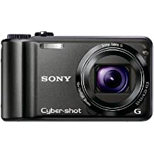 Sony Cyber-shot DSC-H55 14.1MP Digital Camera with 10x Wide Angle Optical Zoom with SteadyShot Image Stabilization and 3.0 inch LCD (Black) (Discontinued by Manufacturer)