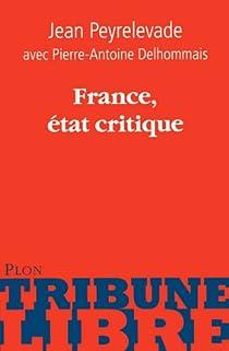 France, état critique par Peyrelevade
