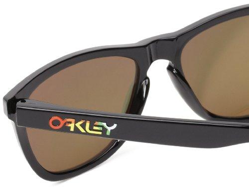Fire Oakley De 325 Iridium 24 Noir Noir Lunettes 55 En Poli Frogskin Soleil Oo9013 rrC0qw6