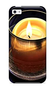 Premium Protection Candle Photography People Photography Case Cover For Iphone 5c- Retail Packaging