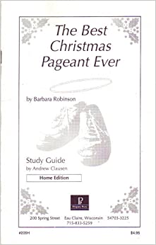 Best Christmas Pageant Ever Study Guide on CDROM ...