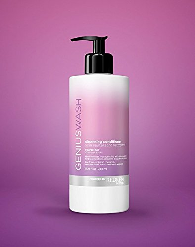 Redken Genius Wash Cleansing Conditioner for Coarse Hair, 16.9 Ounces