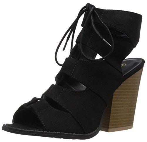 Stivaletto Alla Caviglia Da Donna Barnes-01a Qupid Nero
