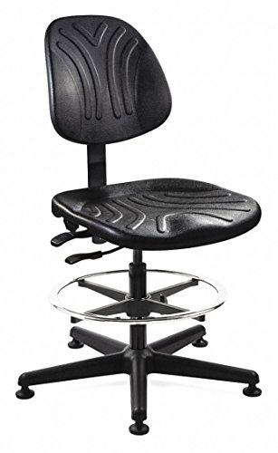 Ergonomic Task Chair Polyurethane Back Height 14-1/2