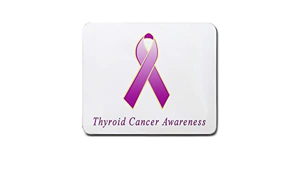 Amazon Com Thyroid Cancer Awareness Ribbon Mouse Pad Electronics