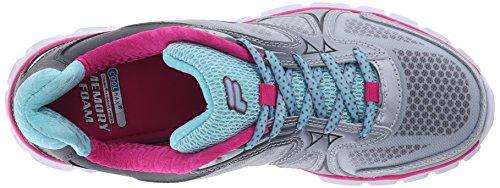 Fila de memoria Solidaridad zapatillas de running Pewter/Aruba Blue/Pink Glow
