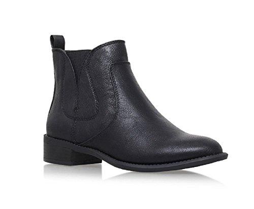 Nine West Kurt Geiger Jupiter 3 Black Leather Look Chelsea Style Boot XWtLN0