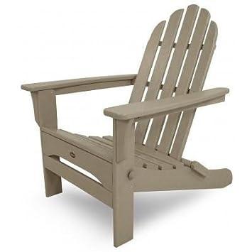 Trex al aire libre muebles Adirondack silla plegable de Cape ...